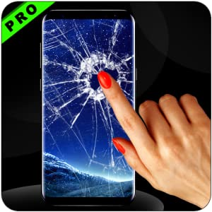 Broken Screen on Touch prank