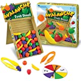Learning Resources LER5070 Avalanche Fruit Stand Game,Multicolor