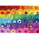 Buffalo Games - Flower Spectrum - 300 Large Piece Jigsaw Puzzle