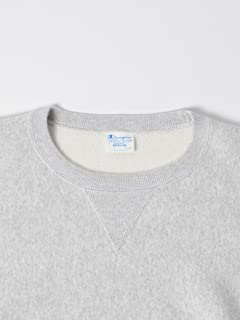 Reverse Weave Crewneck Sweat Shirt 112-55-0015: Grey