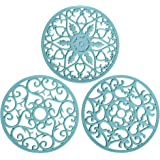 Teal Pot Holders for Kitchen, Trivets for Hot Pots and Pans, Silicone Mat, Hot Pads Trivet, Silicone Pot Holders, Potholders,
