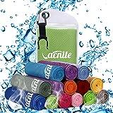 VACNITE クールタオル 速乾タオル 超吸水 軽量 速乾 熱中症対策 100×30cm 1枚 14種類選択可能 防水…