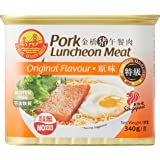Golden Bridge Pork Luncheon Meat Original Can, 340g