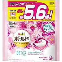 ボールド 洗濯洗剤 ジェルボール 洗濯水をデトックス 癒しのプレミアムブロッサム 詰め替え 大容量 90個約5.6倍
