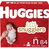 Huggies Little Snugglers Diapers, Size Newborn, 84 Ct