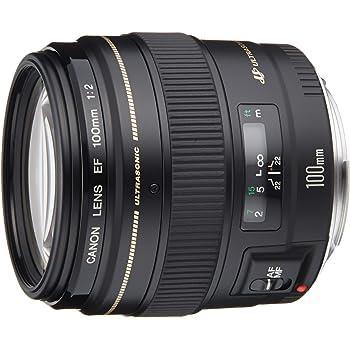 Canon 単焦点中望遠レンズ EF100mm F2 USM フルサイズ対応