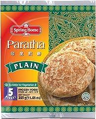 Spring Home Roti Paratha Plain 5's, 325g - Frozen