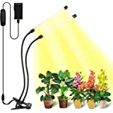 Grow Light Bseah Plant Lights for Indoor Plants, Full Spectrum Plant Grow Lights for Seed Starting, 9 Dimmable Levels Auto ON