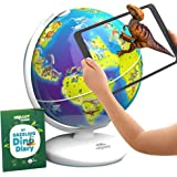 Orboot Dinos AR Globe by PlayShifu (App Based) - World of Dinosaurs Toy for Boys & Girls 4 Years & up
