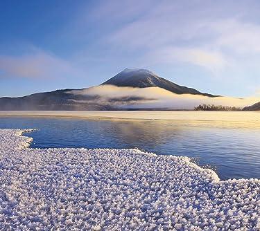 北海道  iPhone/Androidスマホ壁紙(960×854)-1 - フロストフラワー 阿寒湖