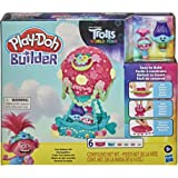 Play-Doh Builder Dreamworks Trolls World Tour Balloon Toy Building Kit for Kids 5 Years and Up with 6 Cans of Non-Toxic Play-