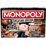 MONOPOLY - Cheaters Edition - What Can you get Away With - Get Caught and Get Cuffed - 2 to 6 Players - Family Board Games an
