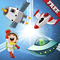 Puzzle for Toddlers : Discover the galaxy, the space and UFO ! Educational Puzzle Games for kids - FREE app
