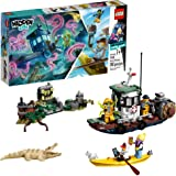 LEGO Hidden Side Wrecked Shrimp Boat 70419 Building Kit, App Toy for 7+ Year Old Boys and Girls, Interactive Augmented Realit