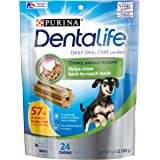 Purina DentaLife Made in USA Facilities Toy Breed Dog Dental Chews, Daily Mini - 24 Ct. Pouch