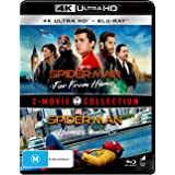 2 Movie Franchise Pack Spider-Man: Far From Home / Spider-Man: Homecoming [4 Disc] (4K Ultra HD + Blu-ray)