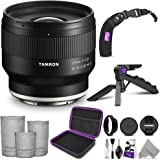 Tamron 24mm f/2.8 Di III OSD M 1:2 Lens for Sony E with Altura Photo Essential Accessory Bundle