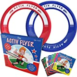 Activ Life Best Kids Flying Rings - Top Birthday Presents & Gifts for Young Boys Girls Ages 3 and Up - Ultimate Outdoor Toss