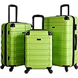 "POD Travel ""Prime"" 3-Piece Hardside Spinner Luggage Set (Green)"