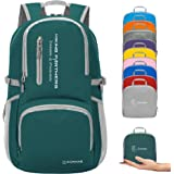 ZOMAKE Lightweight Hiking Backpack,Handy Foldable Water Resistant Travel Daypack Packable Camping Backpack for Men Women