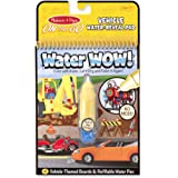 Melissa & Doug 5375 On The Go Water Wow! Water Reveal Pad: Vehicles - 4 Boards and Water Pen,Yellow, 10 inch