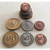 Viticulture Metal Coins Game Pieces