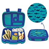 Bentgo Kids Prints - Leak-Proof, 5-Compartment Bento-Style Kids Lunch Box - Ideal Portion Sizes for Ages 3 to 7 - BPA-Free an