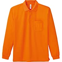 [グリマー] 4.4オンス ドライ 長袖 ポロシャツ [ポケット付] 00335-ALP メンズ 00335-JSH