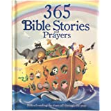 365 Bible and Prayers Padded Treasury - Gift for Easter, Christmas, Communions, Baptism, Birthdays, Ages 3-8: Biblical Readin
