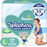 Pampers Splashers Swim Diapers Size L 17 Count
