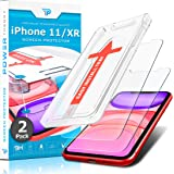Power Theory for iPhone XR/iPhone 11 Screen Protector Tempered Glass [2-Pack] with Easy Install Kit [Case Friendly][6.1 Inch]