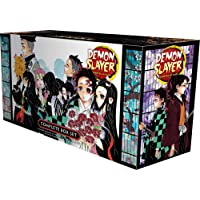 Demon Slayer Complete Box Set: Includes volumes 1-23 with pr…