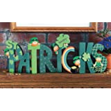 """Fun Express -""""Happy St. Patrick's"""" Screen for St. Patrick's Day - Home Decor - Decorative Accessories - Home Accents - St. Pa"""