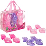 Expressions by Almar - My Princess Academy 3-Pack Dress Up Princess Shoes for Toddler Girls