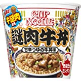 日清食品 カップヌードル 謎肉牛丼 114g ×6個