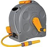 Hozelock 2415R0000 Compact Hose Reel, Grey