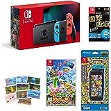 Nintendo Switch 本体 (ニンテンドースイッチ) Joy-Con(L) ネオンブルー/(R) ネオンレッド+New ポケモンスナップ -Switch (【早期購入特典】スペシャルタグ ラプラス『New ポケモンスナップ』ver. &【A