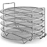 Goldlion Dehydrator Rack Stainless Steel Stand Accessories Compatible with Ninja Foodi Pressure Cooker and Air Fryer 6.5 and