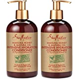 Shea Moisture Conditioner, Manuka Honey & Mafura Oil Intensive Hydration Hair, 13oz 2-Pack