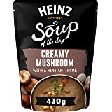 Heinz Soup of The Day - Mushroom with a Hint of Thyme Soup, 430g