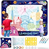Aqua Magic Children's Water Doodle Pad Large 40 X 32 Inch Toddler Water Painting Pad Painting Coloring Pad Pen Pad Learning P