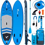 """Freein Explorer SUP Inflatable Stand Up Paddle Board 10'2''/11' Long 33"""" Wide with Sport Camera Mount Package"""