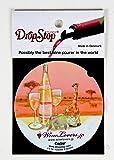 おしゃれな ワインポアラー ドロップストップ DropStop オリジナルデザイン ワインの液だれ防止に便利 北欧 デンマーク製 1枚入