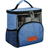 REGER Enlarged Hanging Shower Caddy Tote Bags, Water Resistant Easy Dry Fabric PVC Mesh Toiletry Bags for Men Women Travel Gy