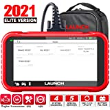 LAUNCH OBD2 Scanner CRP129E Engine/ABS/SRS/Transmission Diagnostic Scan Tool with Oil Service/EPB/TPMS/SAS/Throttle Body Rese