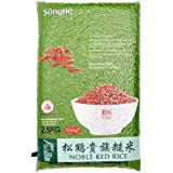 SongHe Noble Red Rice, 2.5kg (Vacuum Packed)