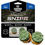 KontrolFreek FPS Freek Snipr for PlayStation 4 (PS4) and PlayStation 5 (PS5) | Performance Thumbsticks | 2 High-Rise Convex (