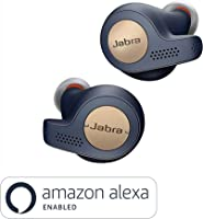 Jabra True Wireless Bluetooth Headphones Earphones Earbuds with Charging Case & One-Touch Amazon Alexa, Copper Blue,...