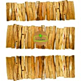 60 Sticks. Palo Santo Smudging Bulk Lot Sticks, High Resin Palo Santo, Holy Wood. Premium Certified Authentic, Wild Harvested