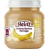 Heinz Creamy Banana Porridge Jar, 110g